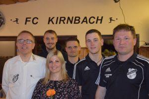 Die 2018 gewählten Vorstandsmitglieder des FC Kirnbach