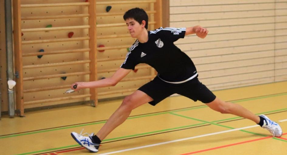 Lukas Armbruster beim BW-Ranglistenturnier